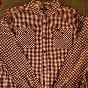 LRG long sleeved button up shirt